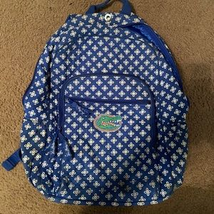 Vera Bradley UF Florida Gators Cotton Backpack